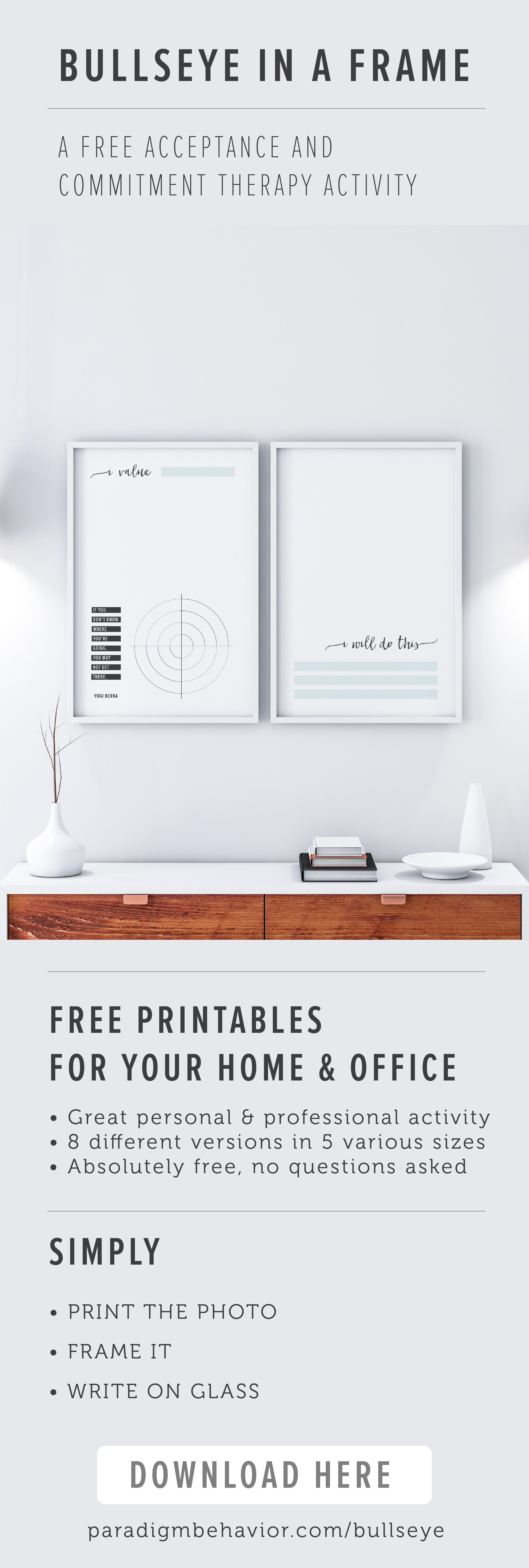 Download These Free Beautiful Bullseye Activities To Frame