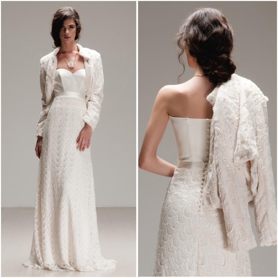 Unique Boho Rock Wedding Dress Otaduy 2015 Jane Birkin 2