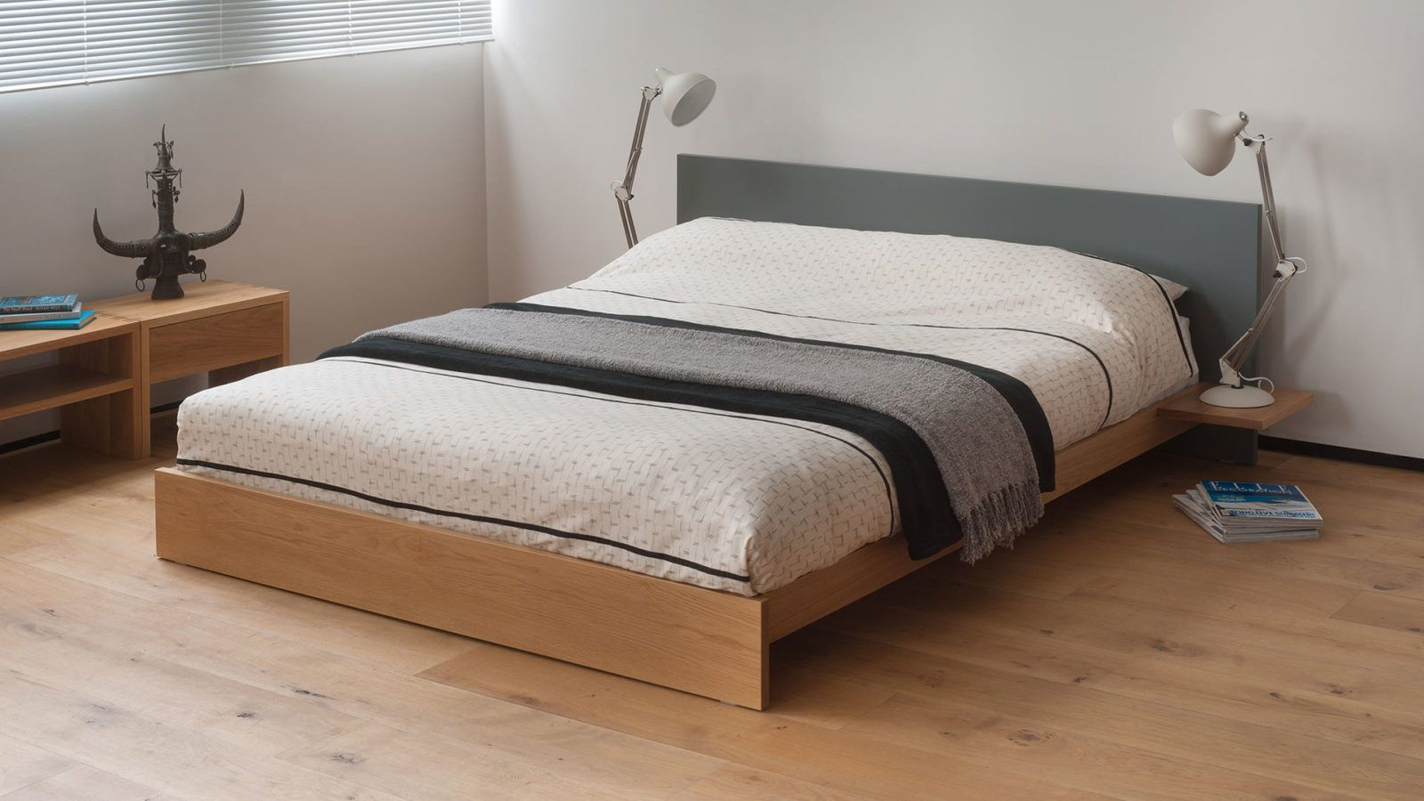 Koo Low Wooden Bed Painted Bed Natural Bed Company