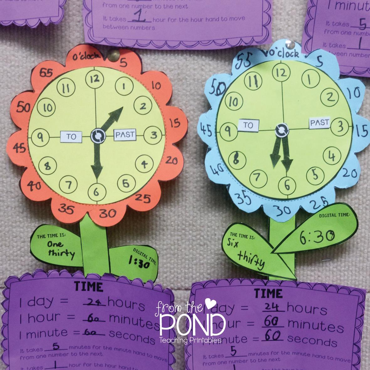Telling Time Mathtivity
