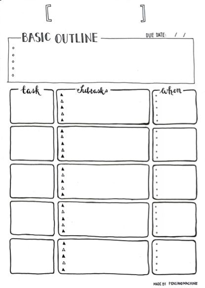 Bullet Journal Examples  Google Search  Command Center