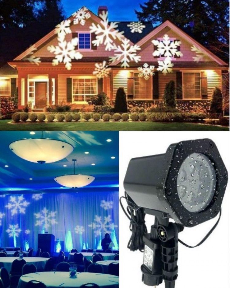 Halloween Lights Projector Outdoor Party LED Lighting Show Christmas