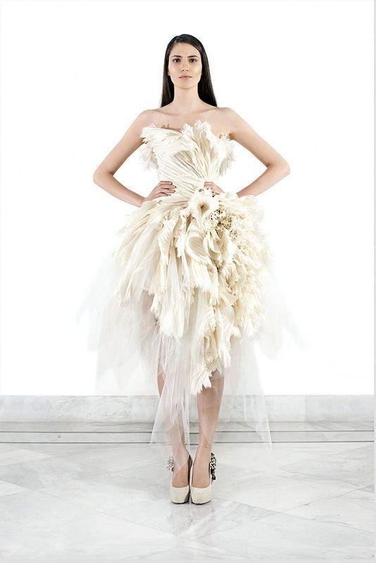 Роскошные свадебные платья от Krikor Jabotian. Коллекция 2012