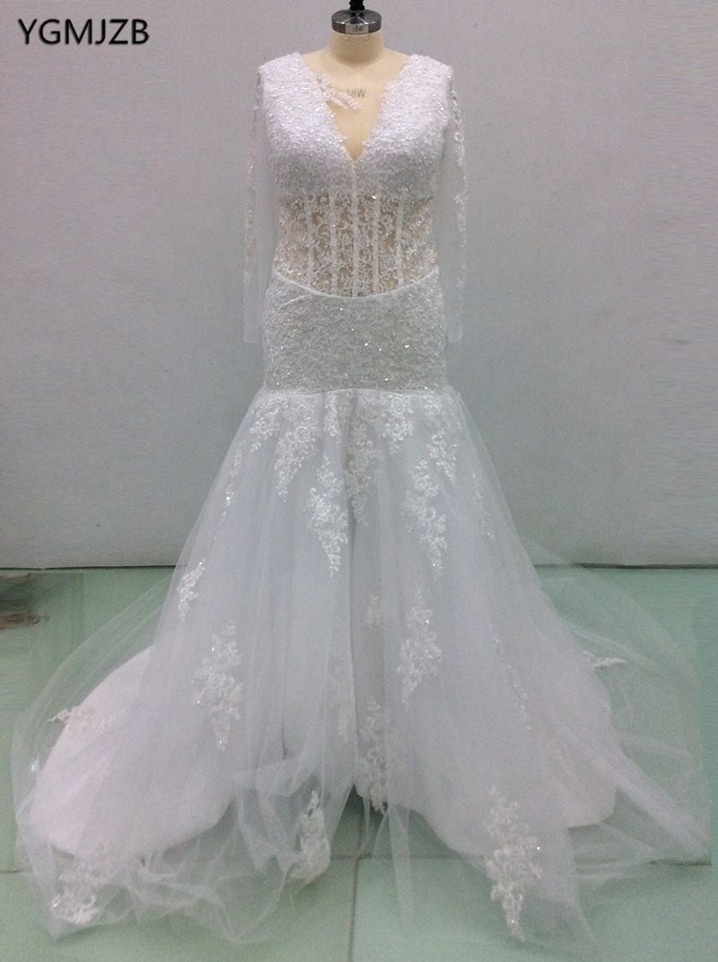 Find more wedding dresses information about bruidsjurken elegant