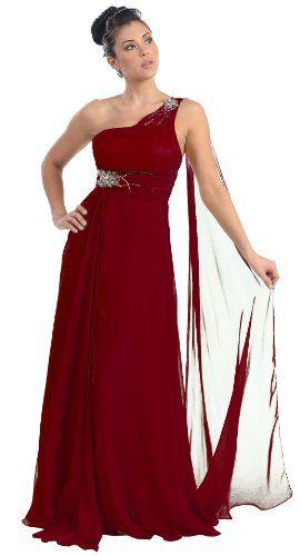 Prom One Shoulder Dress New Elegant Long Gown #2707 $114.99