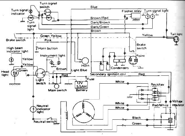 89 yamaha blaster wiring diagram image result for battery wiring diagram for 2008 polaris ...