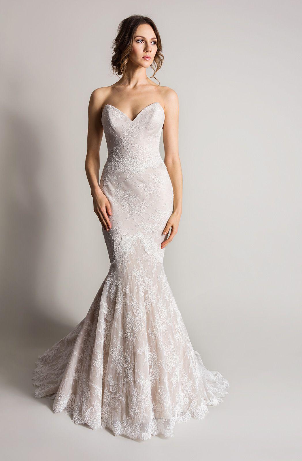 Coloured Wedding Dresses From Top UK Bridal Designers Wedding
