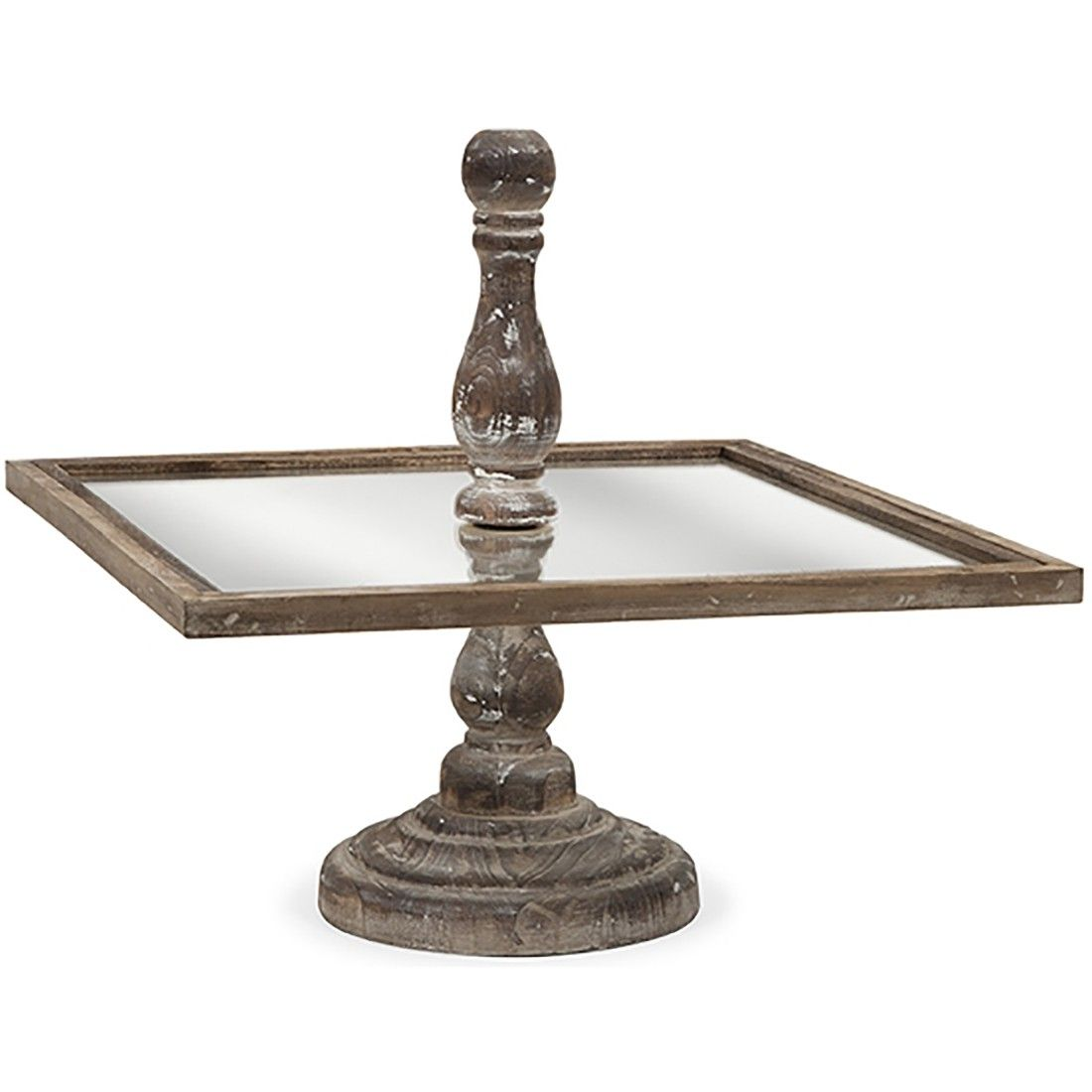 Glover square cake stand 5500 square cake stand glass