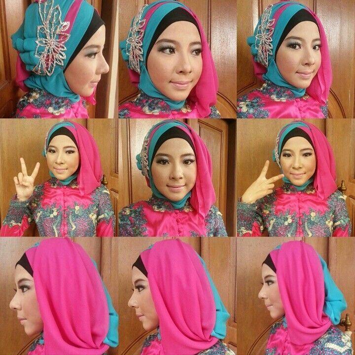 Tutorial Hijab Segiempat Buat Kebaya Ragam Muslim in