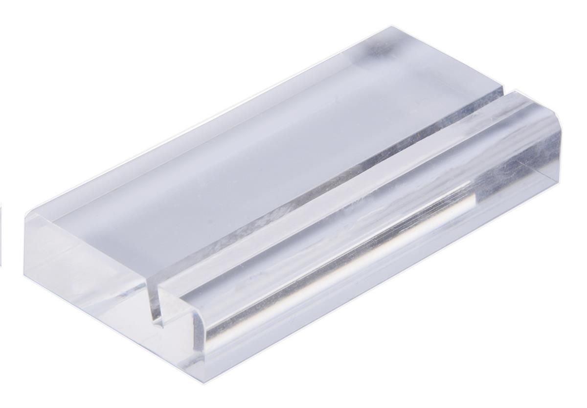 3 Acrylic Business Card Holder Rack Holds Up To 5 Business Cards Clear Square Business Card Holder Clear Business Cards Business Card Holders