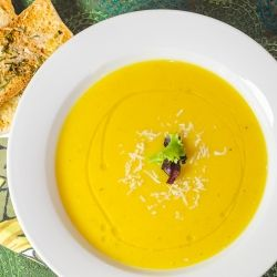 Butternut Squash and Apple Soup by SimpleAwesomeCooking