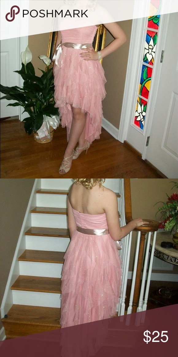 Pastel Pink Formal/Prom Dress From Dillard's. Bought new for $100. Worn once. Dresses Prom