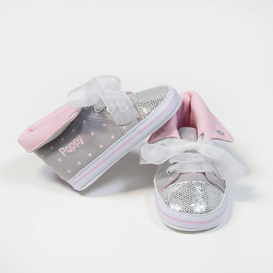 de87a09c911b Personalised Glitter High Top Trainers from notonthehighstreet.com