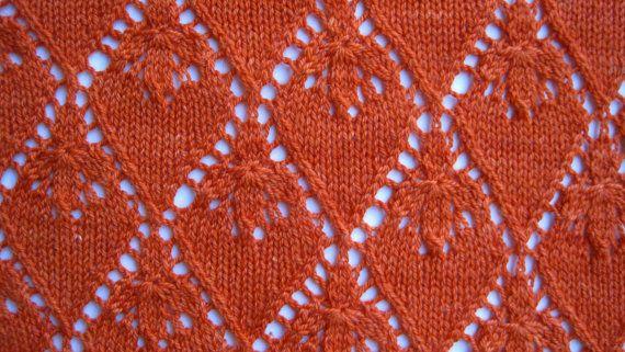 Schema scialle maglia: Scialle di pizzo di WearableArtEmporium