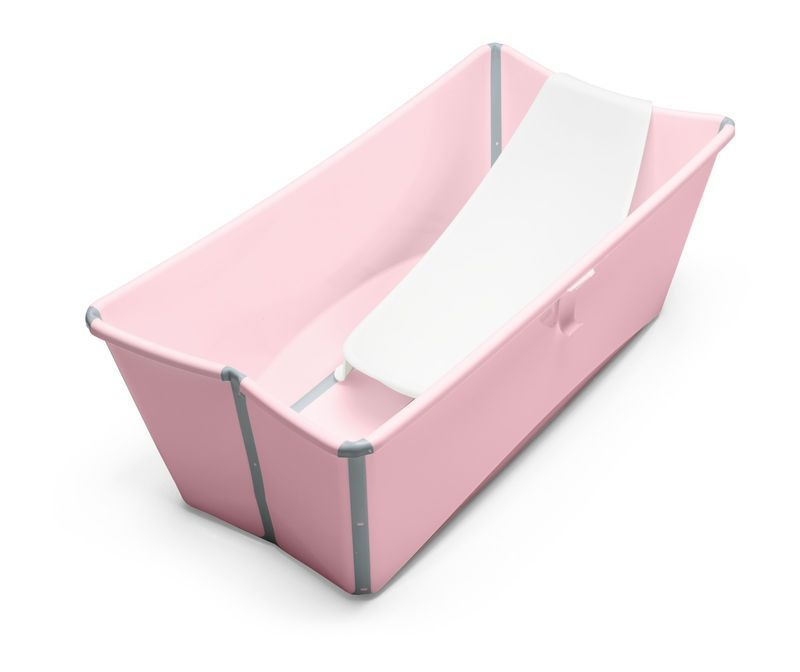 Stokke® Flexi Bath® Pink with Newborn Support - The foldable baby ...