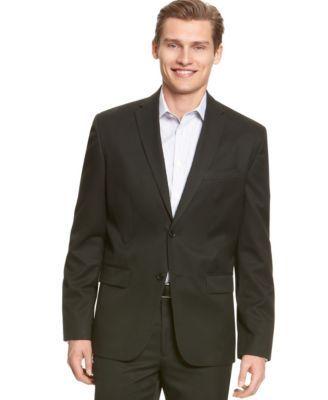 CALVIN KLEIN Calvin Klein Men s Solid 2 Button Blazer.  calvinklein  cloth    blazers 6d8ceb43ea6