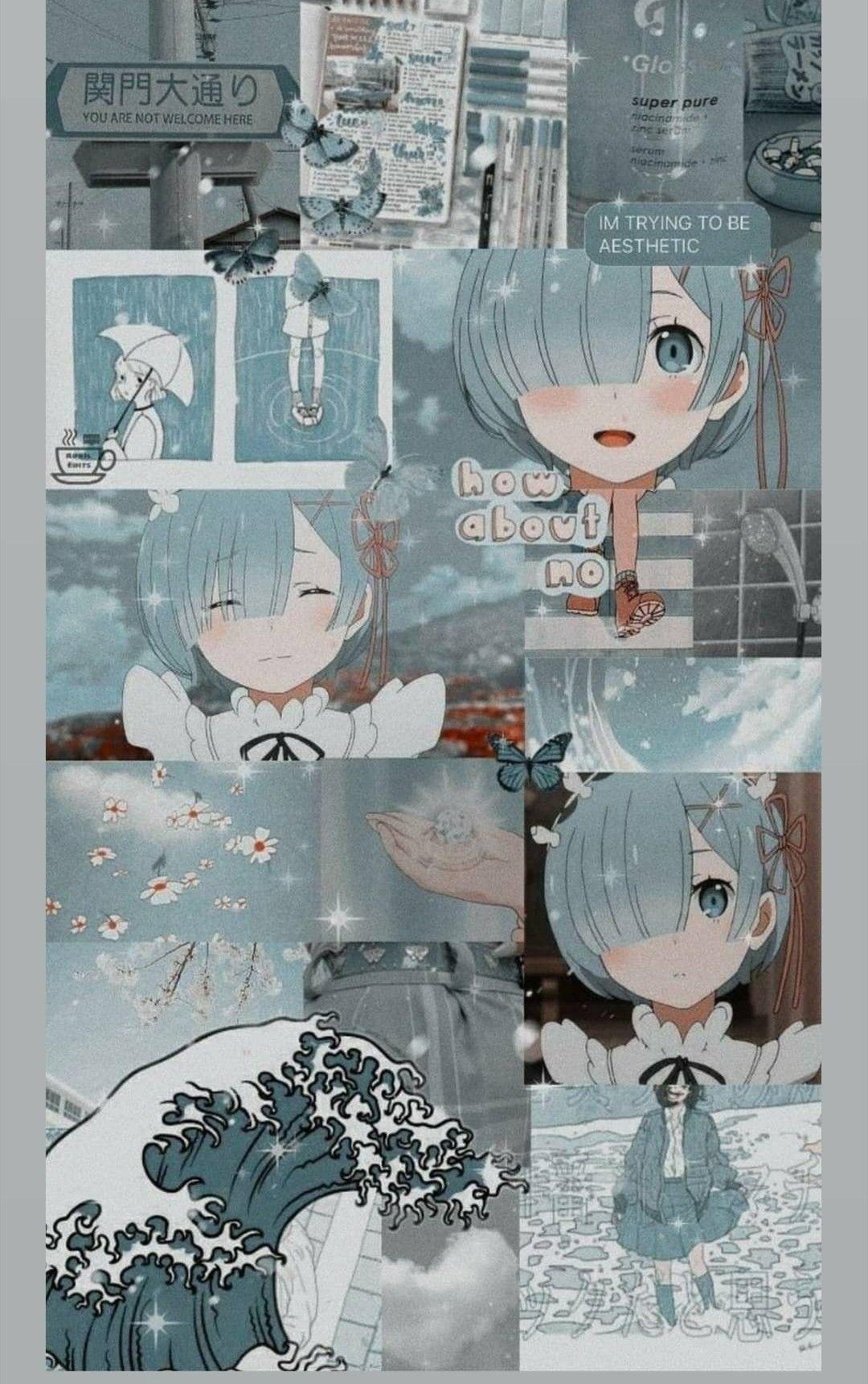 Pin By Iritme On Rezero In 2020 Anime Wallpaper Cute Anime Wallpaper Anime Backgrounds Wallpapers
