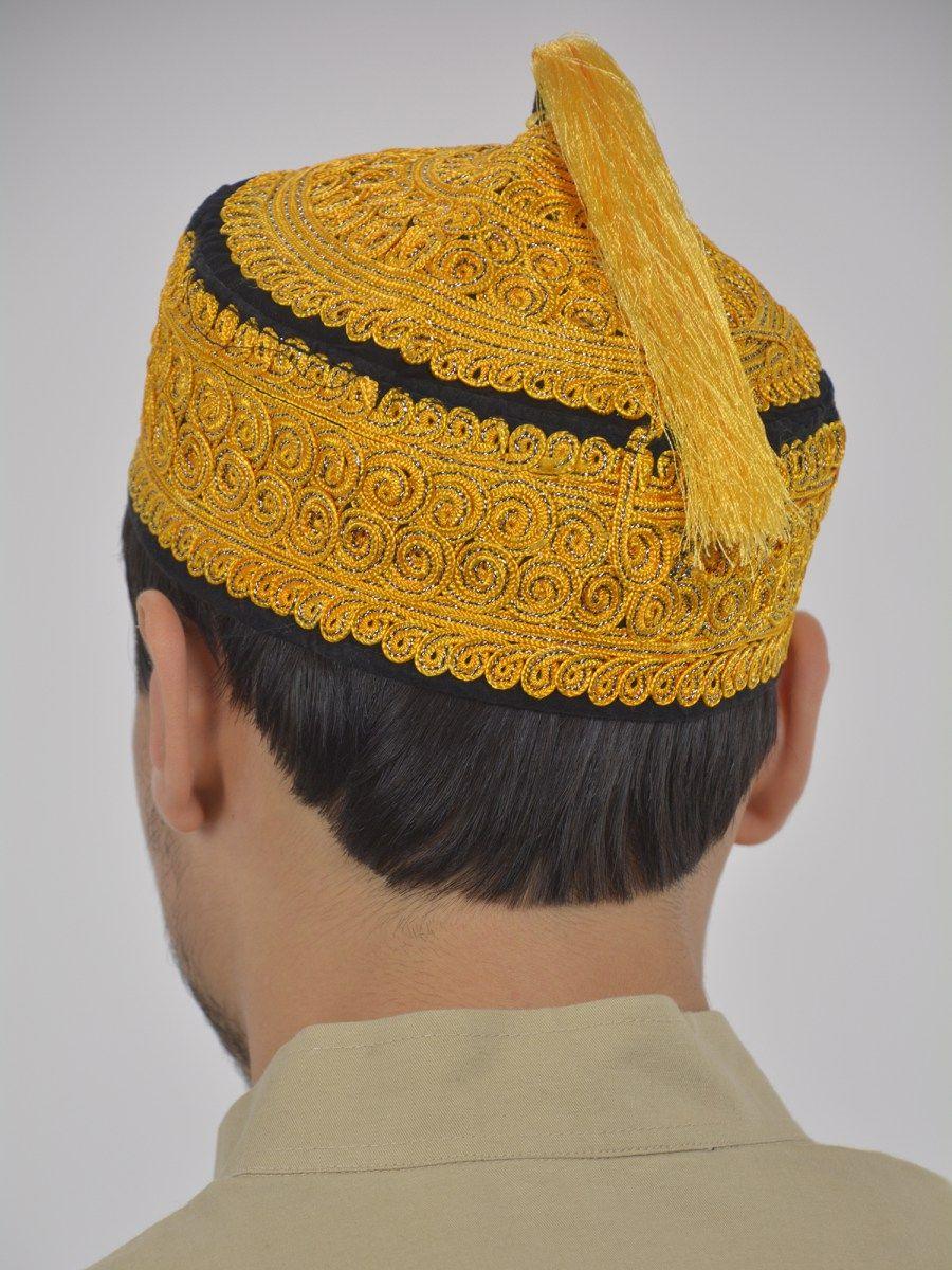 eee35fde5 Premium Tasseled Kufi me491 in 2019 | Men's Muslim Head wear | Men's ...