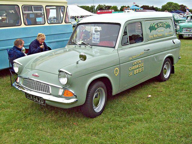 193 Ford Anglia 307e Van 7cwt 1966 Ford Anglia Ford Classic