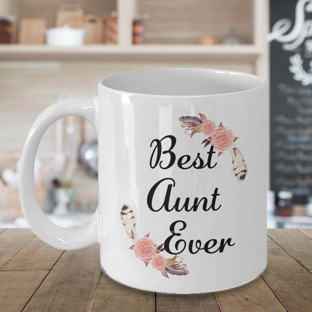 Best Auntie Ever Coffee Mug Gifts for Aunt Cup Presents