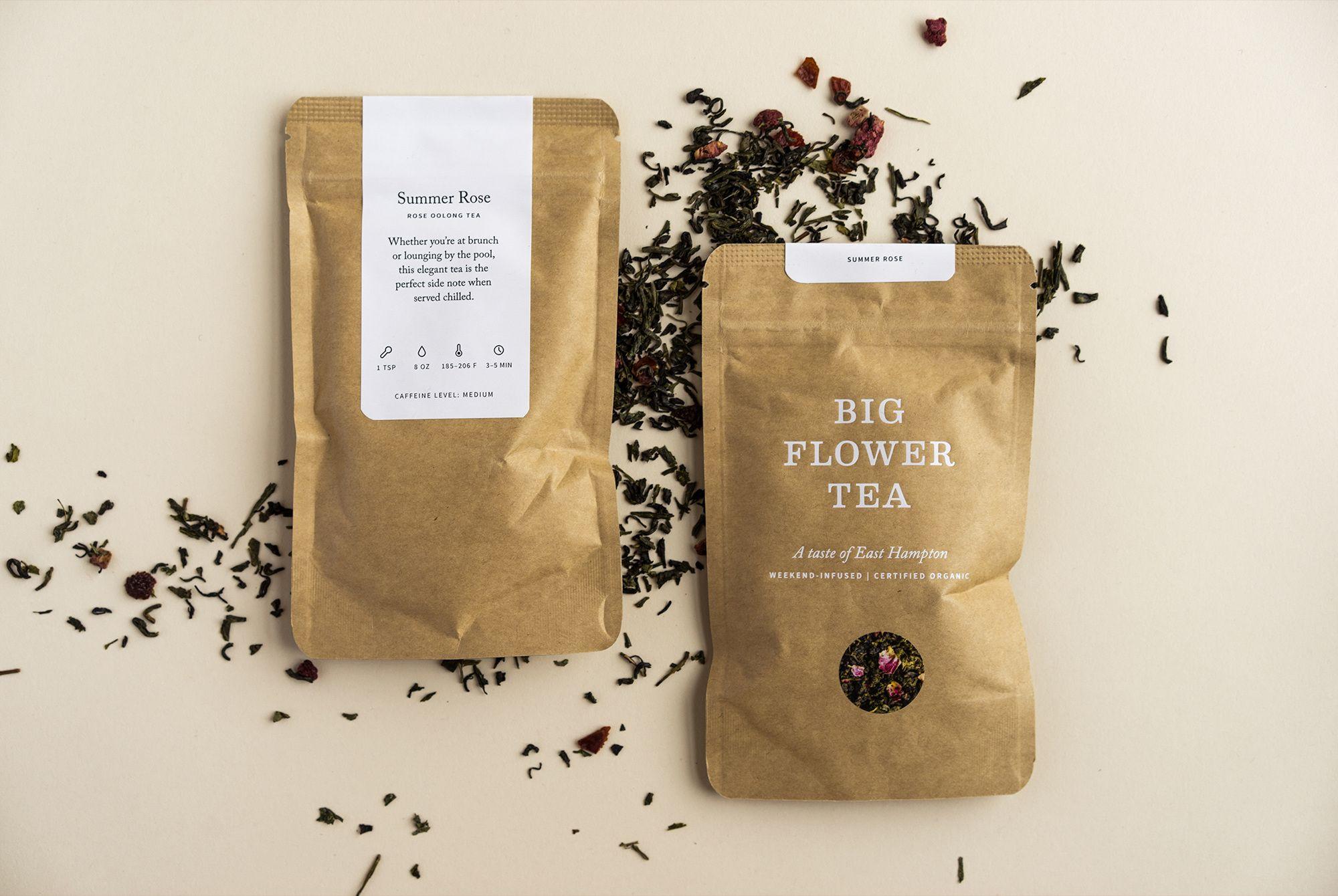 Big Flower Tea Maude Paquette Boulva Flower Tea Tea Packaging