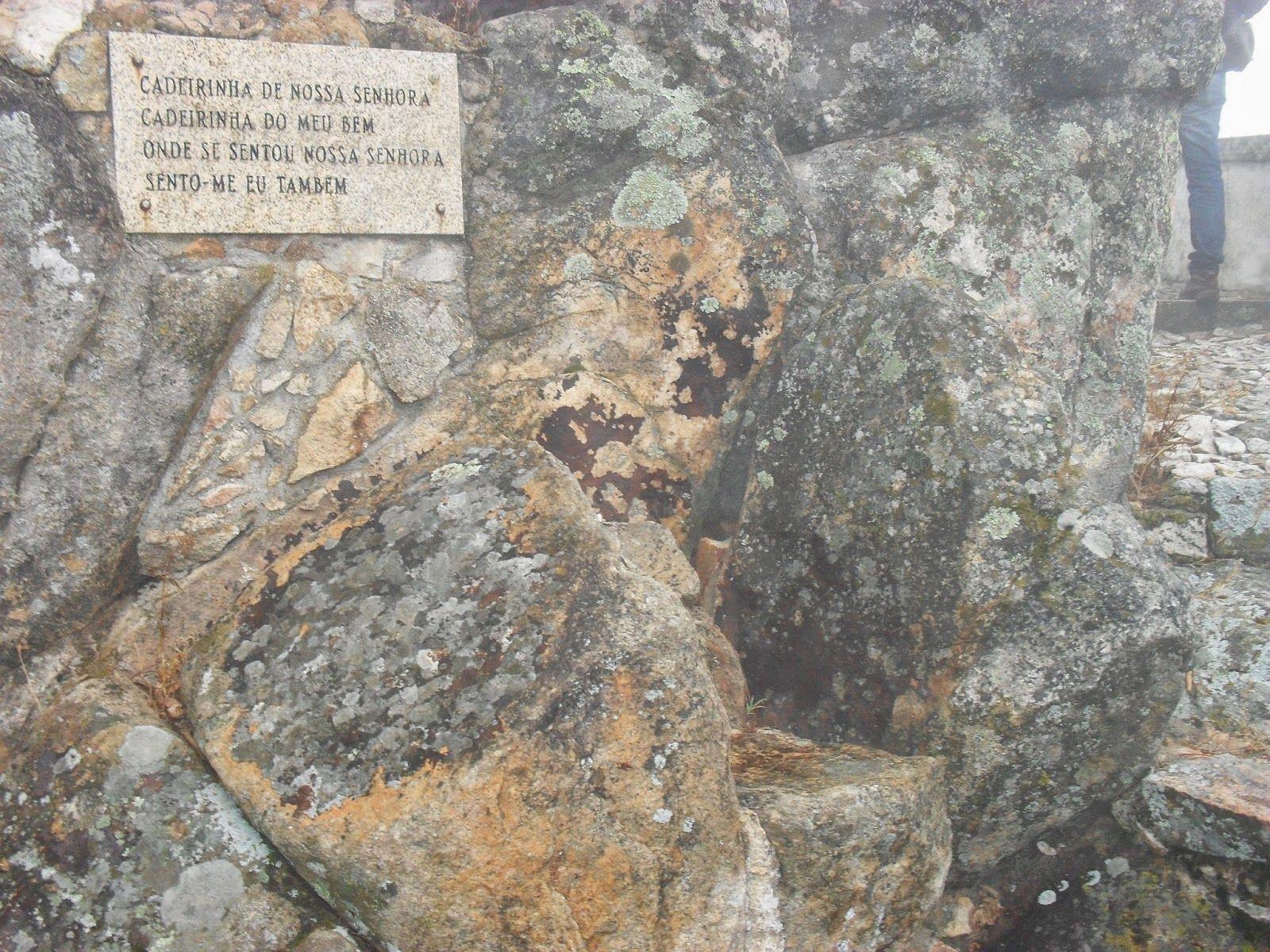 Delícias à Lareira: Por aí...   Cadeira Senhora da Penha Castelo de Vide Quartzitos