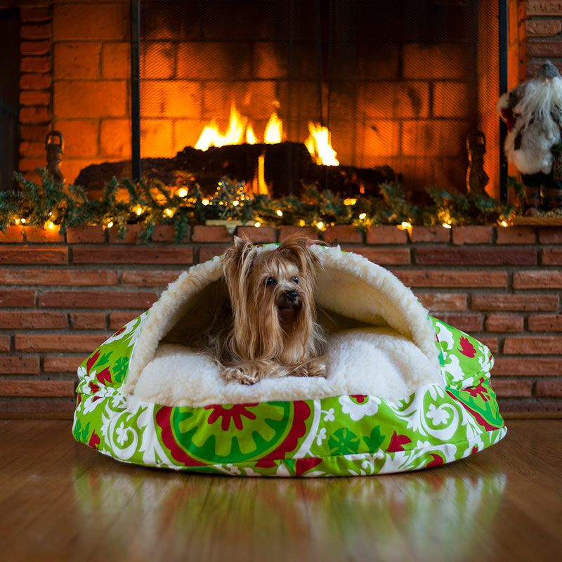 Snoozer Holiday Cozy Cave® Dog Bed Cozy cave dog bed