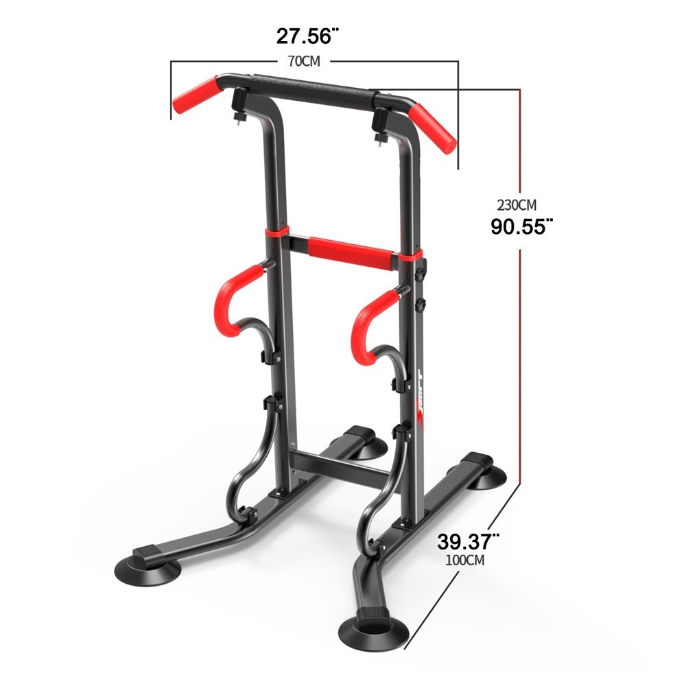 Integrated Fitness Equipments Power Tower Adjustable Heights Workout Dip  Station Home Gym Strength Training O2K0015-in Integr… | No equipment  workout, Gym, Home gym