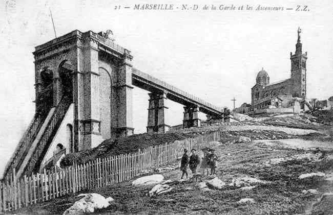 Ancien Ascenceur NotreDamedelaGarde, Marseille en 2020