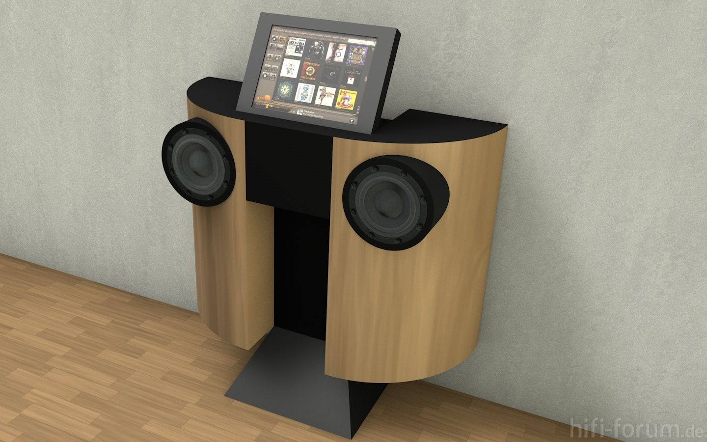 DIY from hifi-forum.de Very nice design! | Vinyl & Radio ...