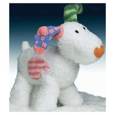 Snowdog From The Snowman And The Snowdog Knitting Pattern Knit