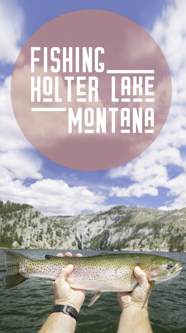 Holter Lake was without a doubt the most scenic place we have ever dropped a line. When we envisioned fishing in Montana USA we figured it would be picturesque, but this lake blew us away.  via @gettingstamped #Fishing #Montana #Fish #HolterLake
