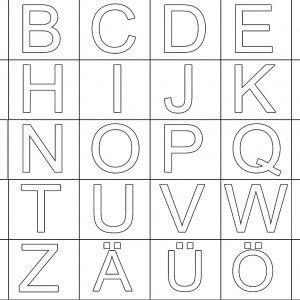Abc Memory Zum Ausdrucken Alphabet Din A4 Buchstaben Buchstaben