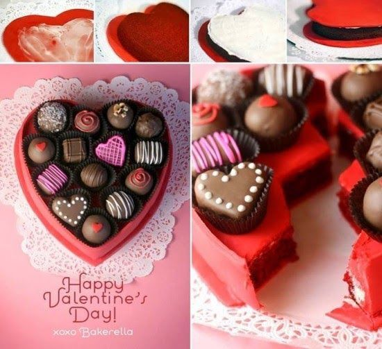 how to make a valentines day gift box cake food diy valentines day valentines day treats