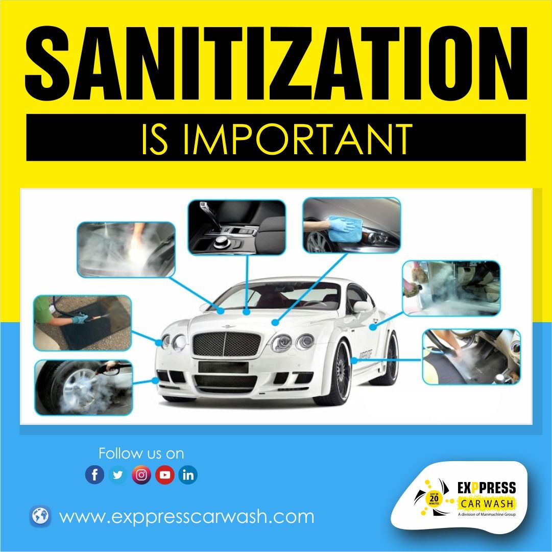 Sanitization is Important in 2020 Car wash business, Car