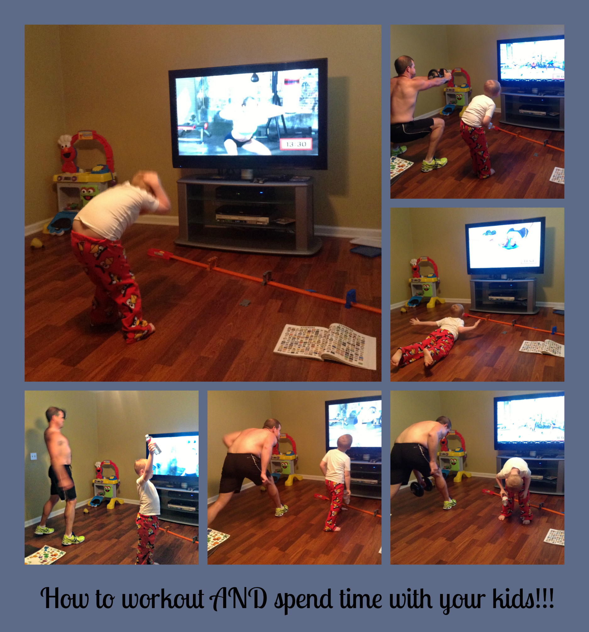 Your workout doesn't have to take time away from your kids.