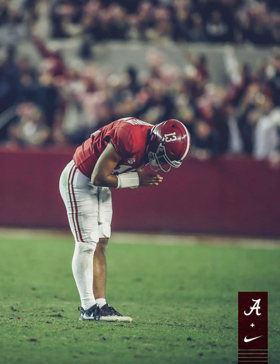 Tua Tagovailoa Alabama 52 Auburn 21 In The 2018 Iron Bowl Alabama Rolltide Bama Alabama Football Roll Tide Alabama Crimson Tide Football Alabama Football