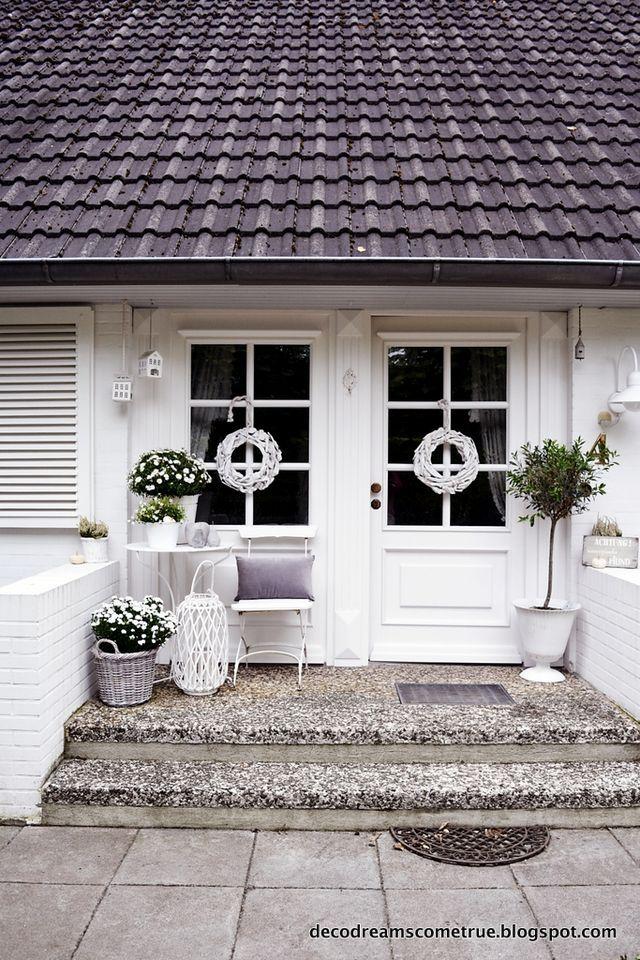 Entrèe (Dreams Come True) (mit Bildern) Haustür landhaus
