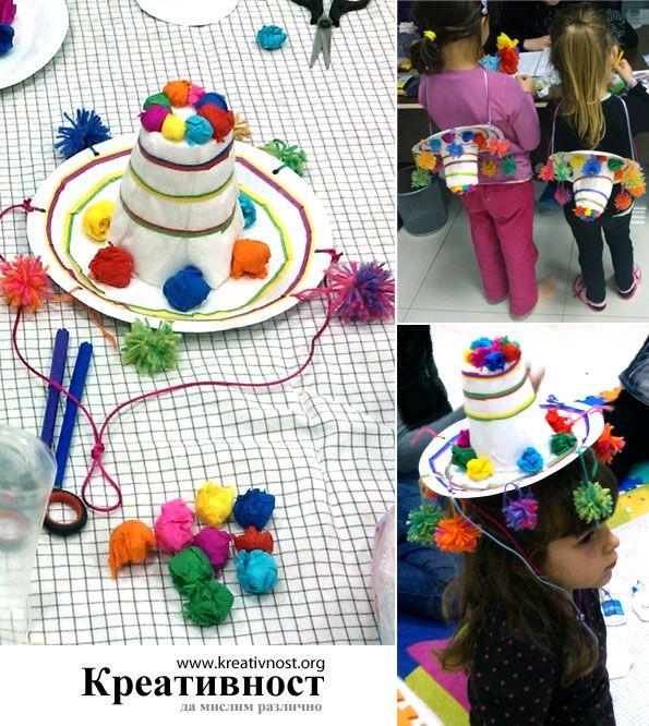 DIY paper plate Mexican sombrero.  sc 1 st  Pinterest & DIY paper plate Mexican sombrero. | Kids art projects | Pinterest ...