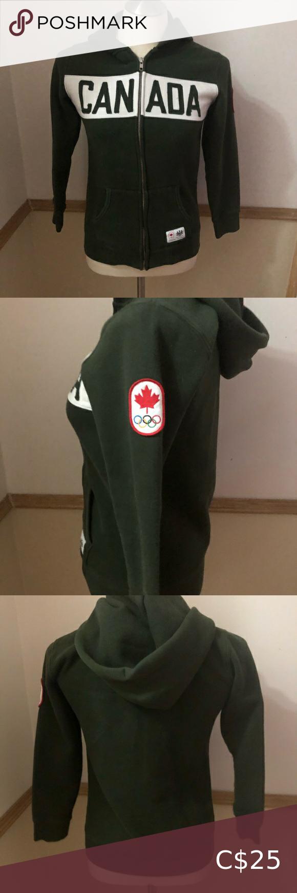 CANADA 🇨🇦 Zip Up Hoodie in 2020 Hoodies, Zip ups