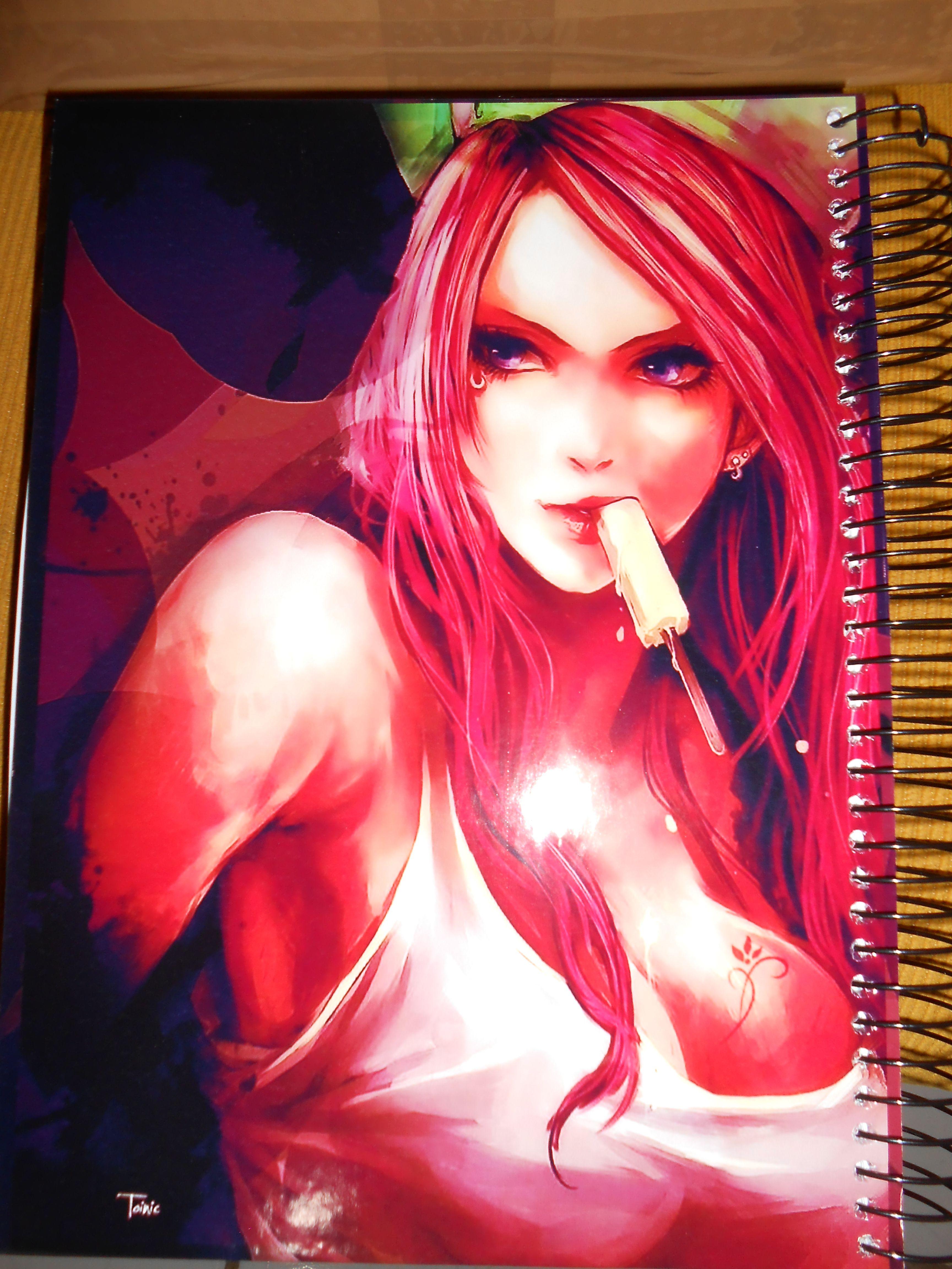 Cadernos que personalizamos