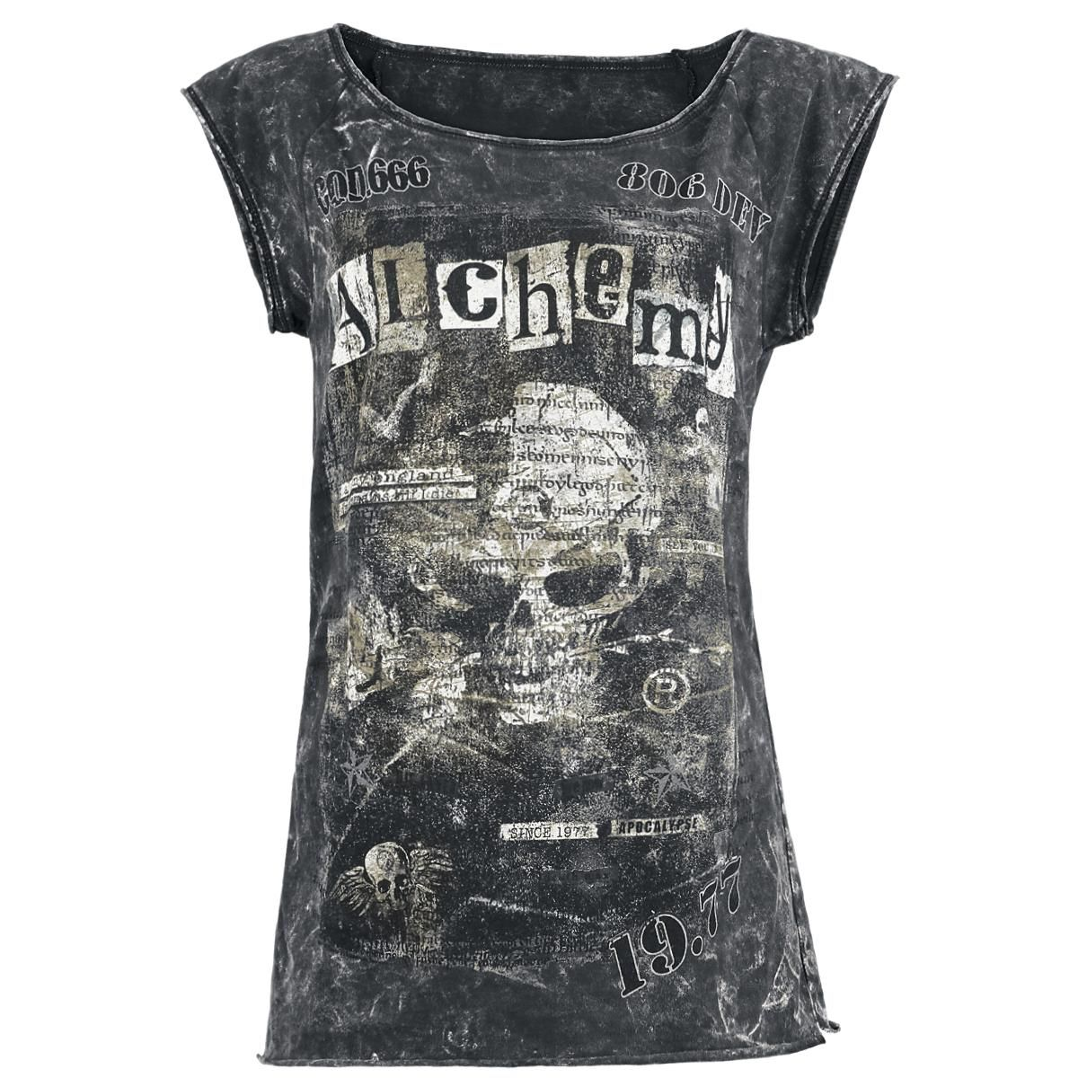 Code 666 The Girls Longshirt Of Alchemy England Makes You Look Shirt Navy Damned Smooth On