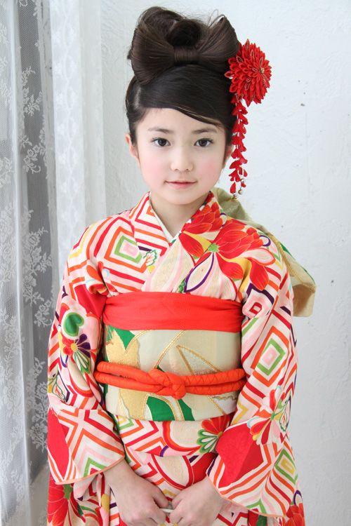 髪型 七五三 髪型 アレンジ : pinterest.com