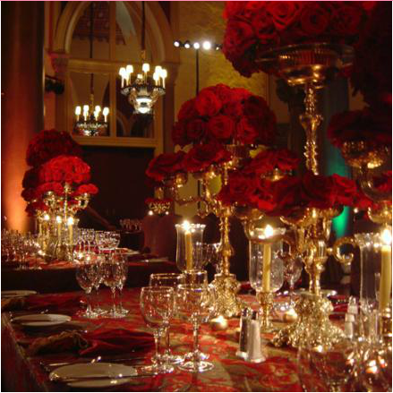 red and gold tablescape reception inspiration in 2019 red wedding wedding decorations. Black Bedroom Furniture Sets. Home Design Ideas