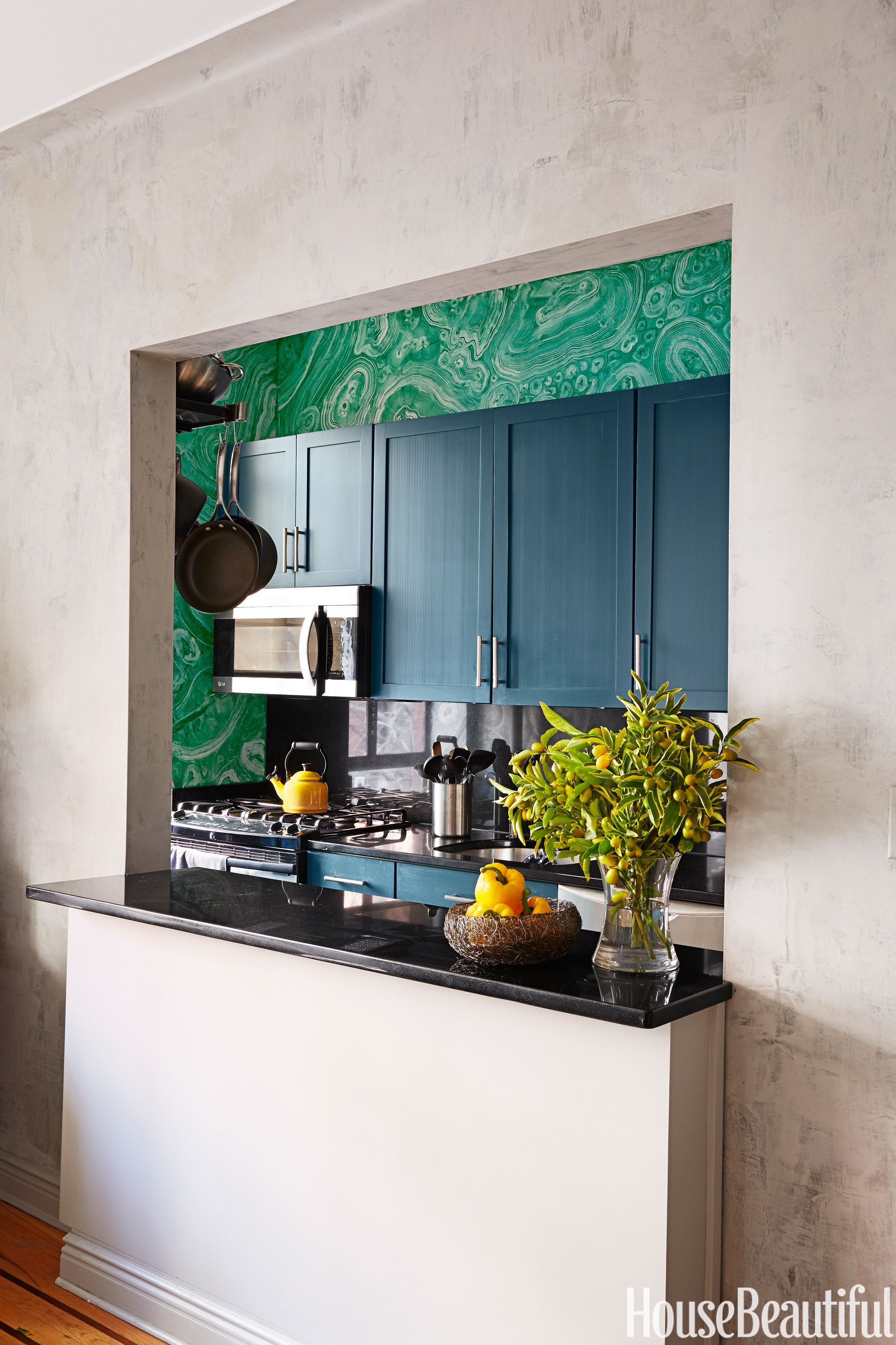10 Tricks for Small Kitchens | Galley kitchens, Granite tops and ...