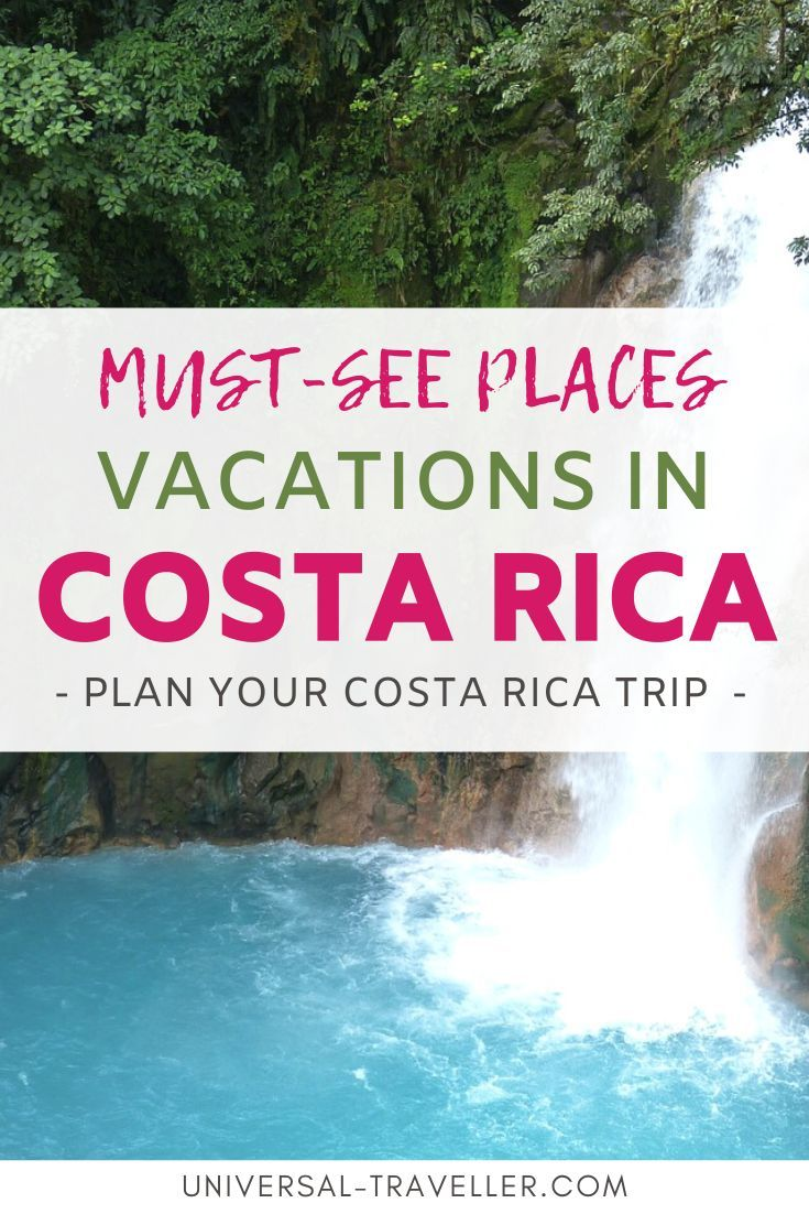 Top Places To Visit On Your Vacations In Costa Rica Best Surfing