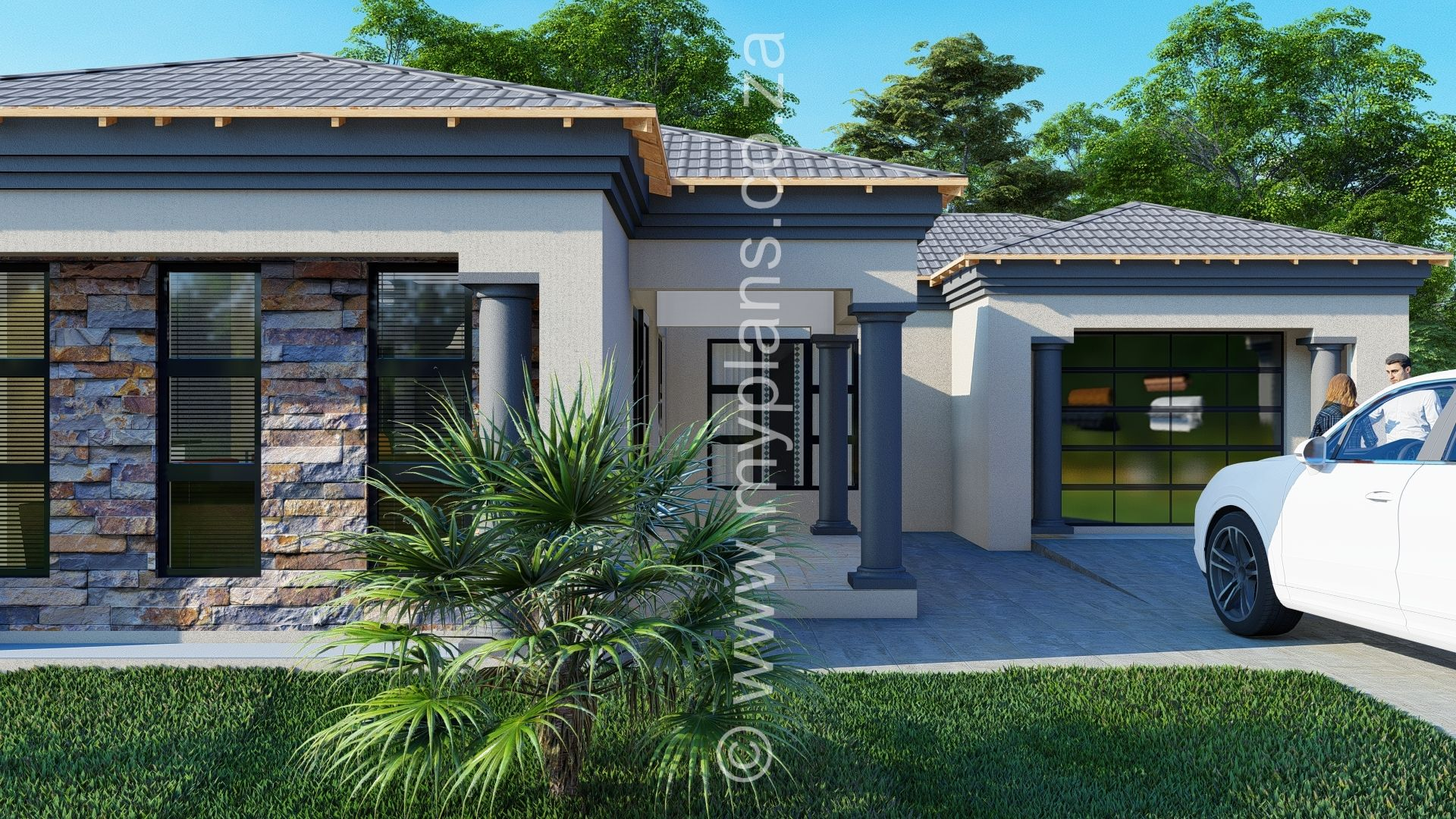3 Bedroom House Plan Mlb 008 1s Bedroom House Plans House Plan Gallery Tuscan House Plans
