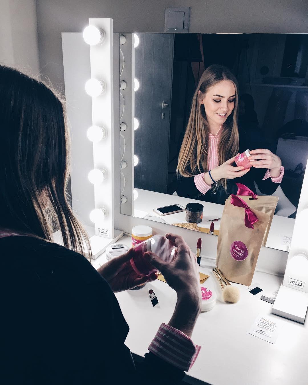 Unsere Fortschrittlichsten Lampen Das Beste Kosmetik Licht Wie Im Schonheitssalon 258 95 208 95 Gluhbirnen Fur Schminkspiegel Mirror Home Decor Decor