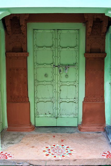 Doors - Jodhpur, India by To Uncertainty And Beyond, via Flickr ..rh