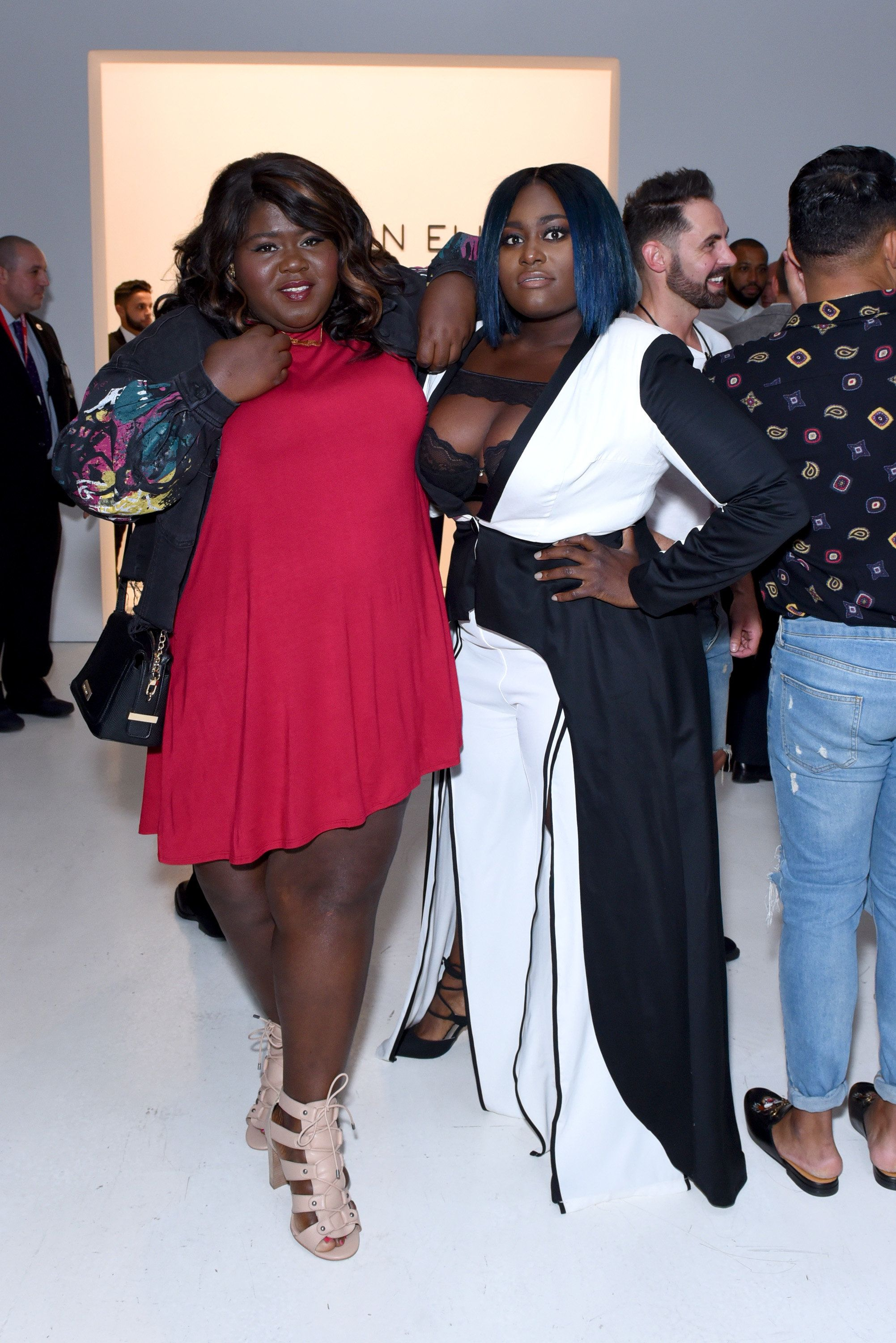 141898fbc58 Gabourey Sidibe and Danielle Brooks | Another New York Fashion Week season  is upon us and as expected, some of our favorite celebrities are sashaying  their ...